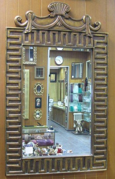 Espejo resina oro envejecido cristalerias de la torre - Espejos de resina ...